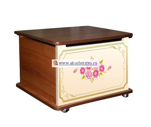 Ящики для игрушек Влана Тумба Розы