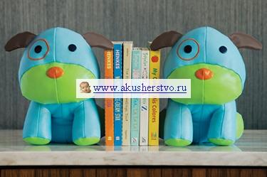 Аксессуары для детской комнаты Skip-Hop Подставка для книг Zoo Bookends