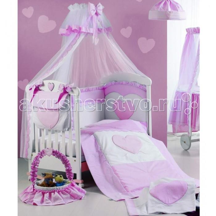 Балдахины для кроваток Roman Baby Cuore di Mamma с держателем
