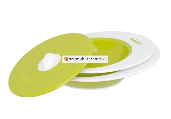 Посуда Beaba Набор тарелок Ellipse