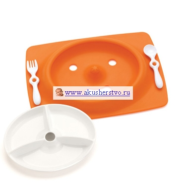 Набор для еды Mate (4 предмета) Orange