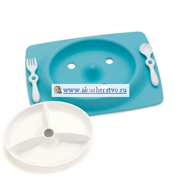 Набор для еды Mate (4 предмета) Blue
