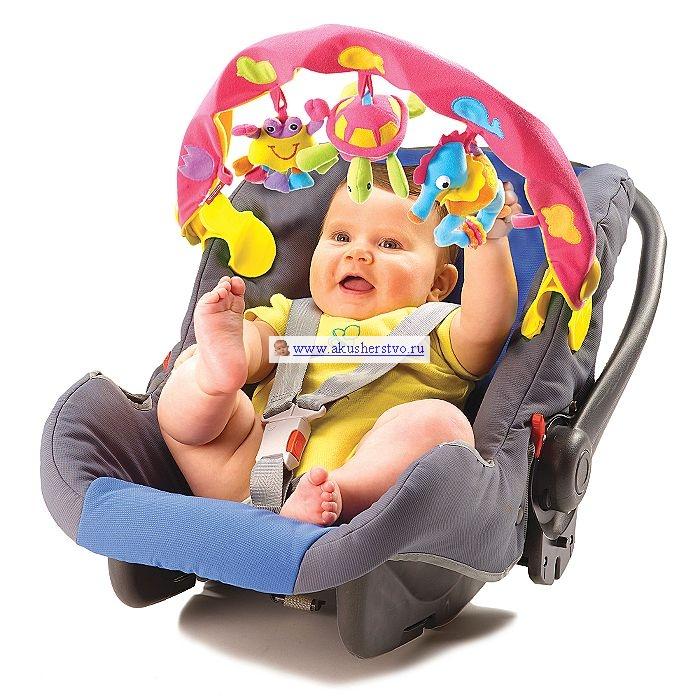 Дуги для колясок и автокресел Tiny Love Дуга музыкальная с 3 игрушками