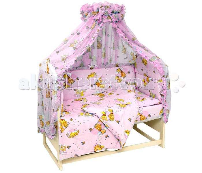 Карманы и панно Топотушки Карман на кроватку Жираф Вилли