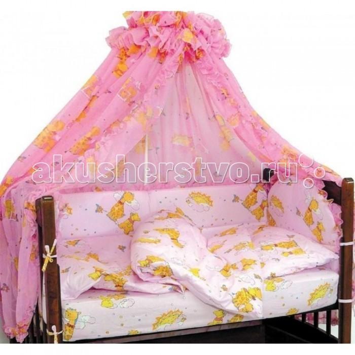 Бамперы для кроваток Топотушки Жираф Вилли