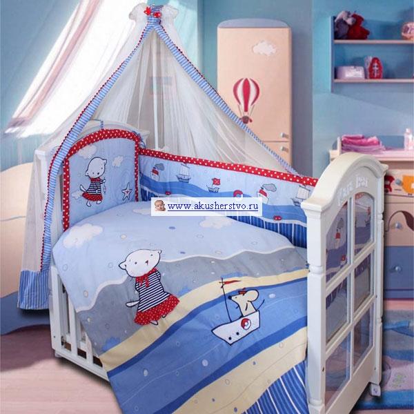 Бамперы для кроваток Золотой Гусь Морские котята