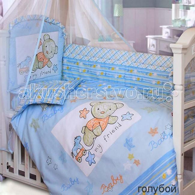 Бамперы для кроваток Золотой Гусь Zoo Bear