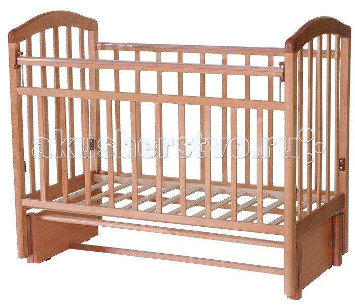Детские кроватки Антел Алита 5 (маятник продольный)