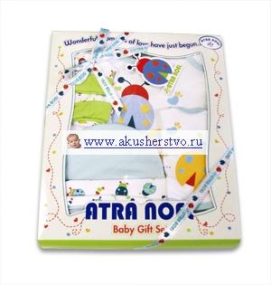 Подарочные наборы Atra Noel для новорожденного 0-6 мес. (4 предмета)