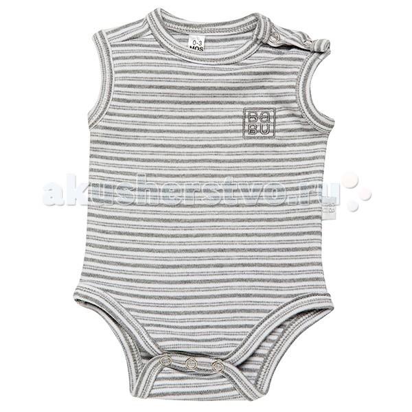 Детский трикотаж Babu Боди Singlet bodysuit NB