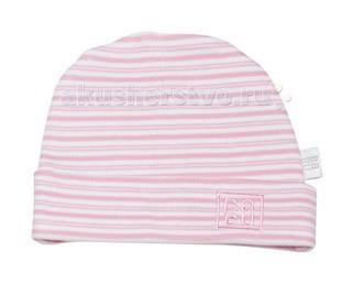 Шапочка Hat 0 мес Pink/Stripes