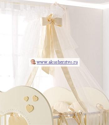 Балдахины для кроваток Baby Expert Cuore di Mamma
