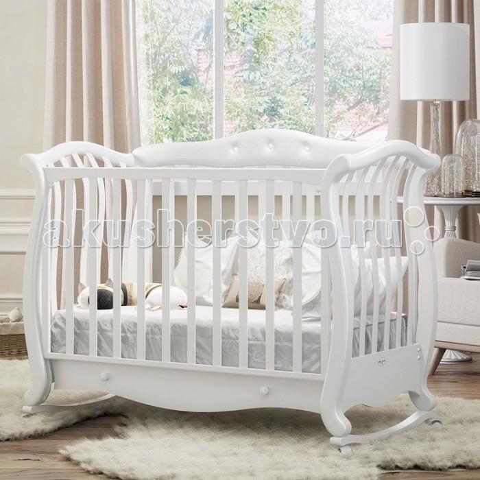Детские кроватки Baby Italia Andrea VIP Pelle (качалка)