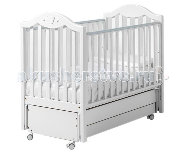 Детские кроватки Baby Italia Didi маятник cо стразами