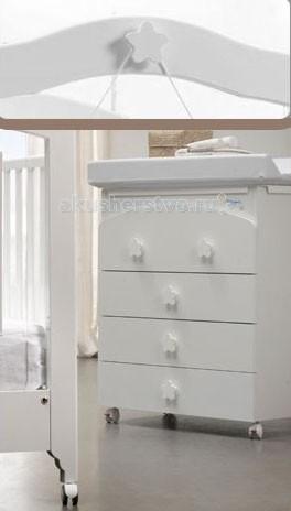 Аксессуары для мебели Baby Italia Комплект из 5 ручек-звездочек