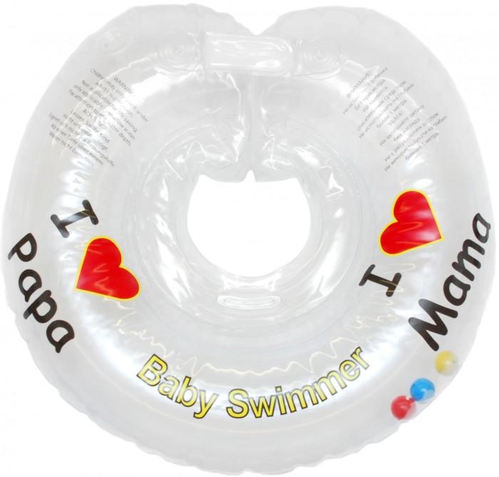 Круги для купания Baby Swimmer погремушка 0-36 мес.