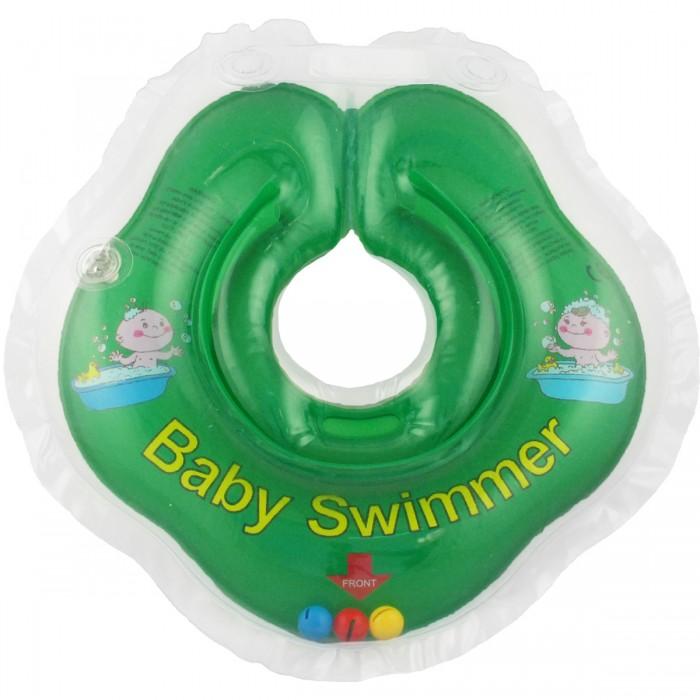Круги для купания Baby Swimmer погремушка 0-24 мес.