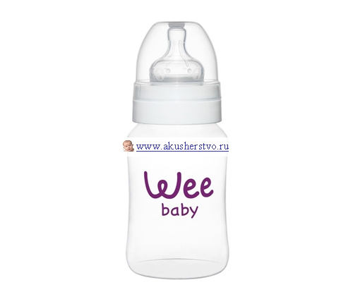 Бутылочки Baby Wee с широким горлышком 250 мл