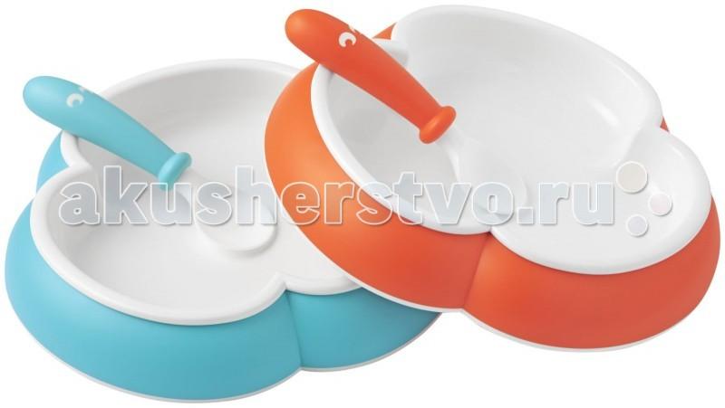 Посуда BabyBjorn Комплект из 2 тарелок и 2 ложек