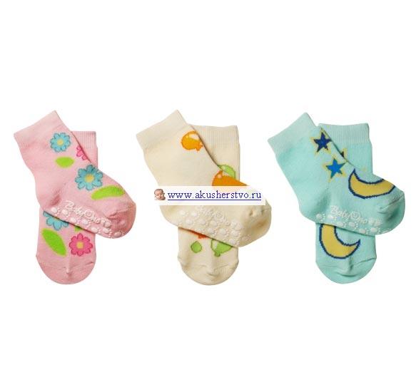 Носочки BabyOno Носочки противоскользящие 6-12 мес 1 пара