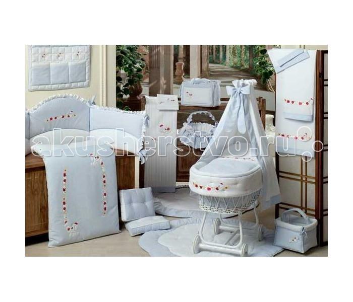 Постельное белье BabyPiu Le Chicche - Комплект для кроватки в чемодане