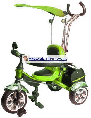 Трехколесные велосипеды Bambini Ultra Trike (А) надувные колеса