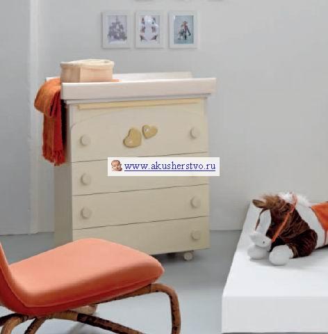 Комоды Bambolina Soft & Sweet Mama пеленальный