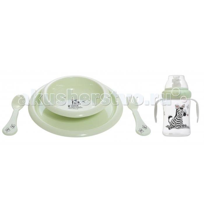 Подарочный набор для кормления Люкс Мята