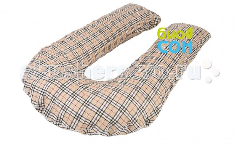 Подушки для мамы БиоСон Наволочка для подушки U 280х35
