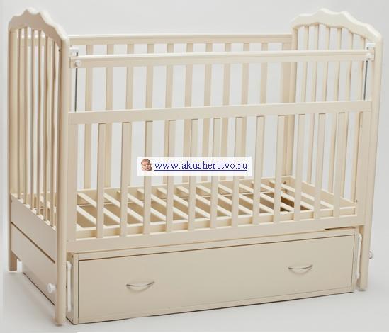 Детские кроватки Baby Luce Лидер 2 (маятник поперечный)