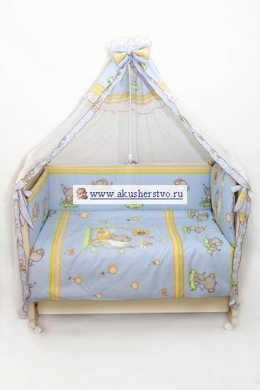 Бамперы для кроваток Bombus Слоники
