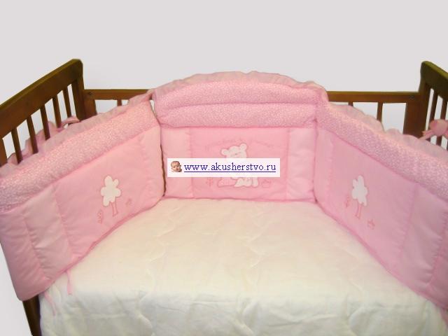 Бамперы для кроваток Bombus Светик