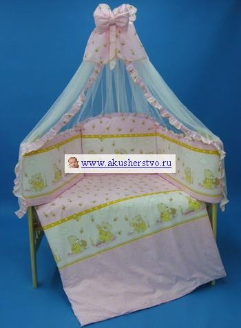 Комплекты для кроваток Bombus Валюша в кроватку (7 предметов)
