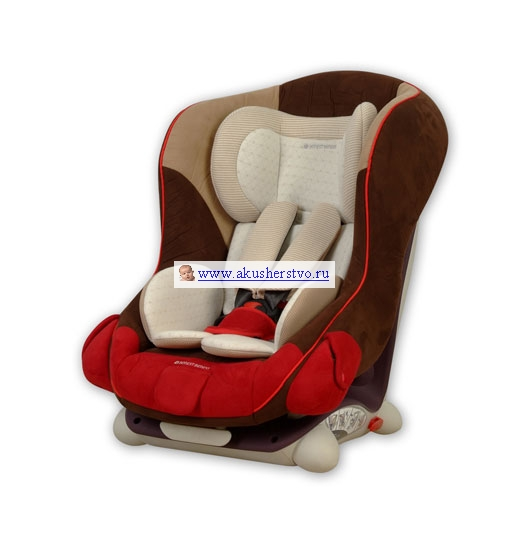 Air7 Isofix Organic Red