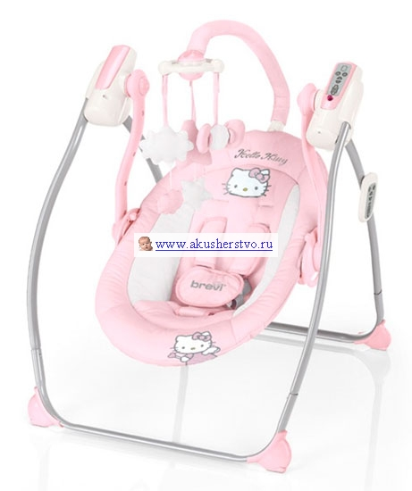 Качели электронные Brevi Miou Hello Kitty