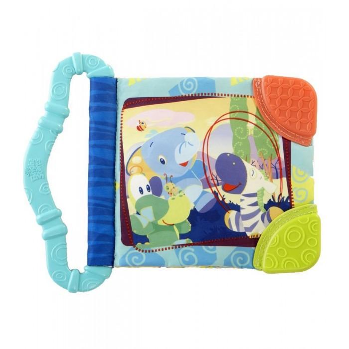 Книжки-игрушки Bright Starts Игрушка-книжка Веселые зверюшки