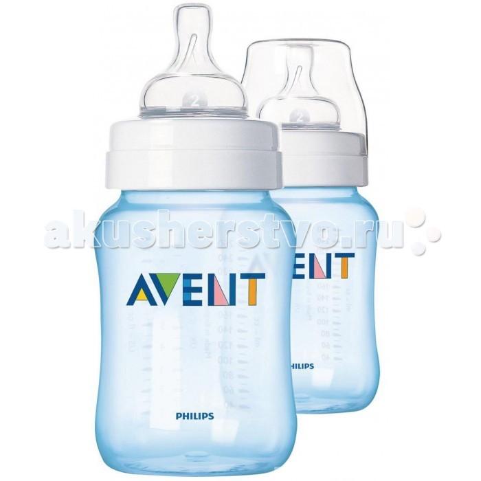 Бутылочки Philips-Avent медленный поток SCF685/27 SCF684/27 2 шт. 260 мл
