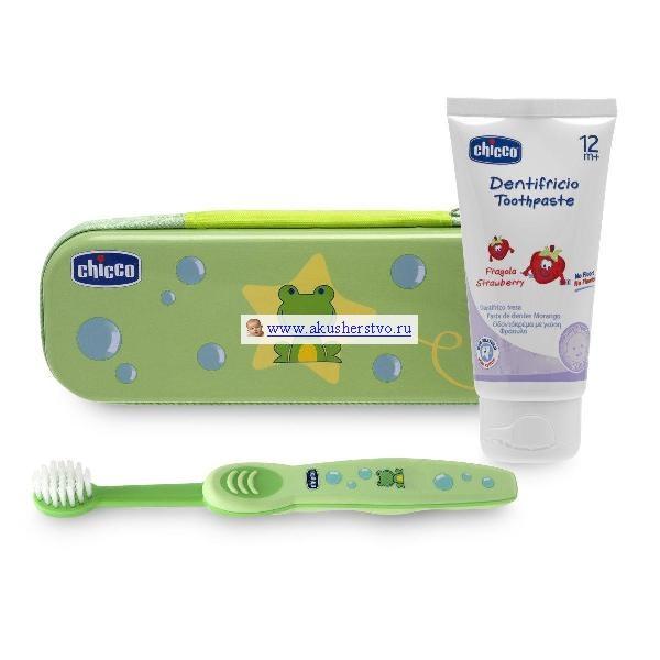 Гигиена полости рта Chicco Набор для чистки зубов