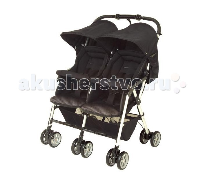 Коляски для двойни и погодок Combi Прогулочная коляска для двойни Spazio Duo