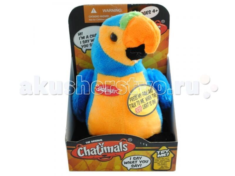 Интерактивные игрушки Dragon Попугай-повторюшка 80092B