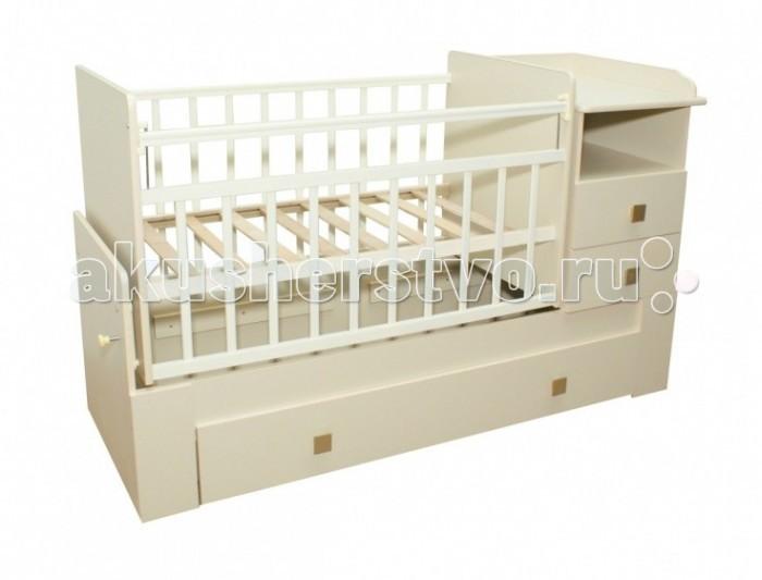 Кроватки-трансформеры Bambu Milana