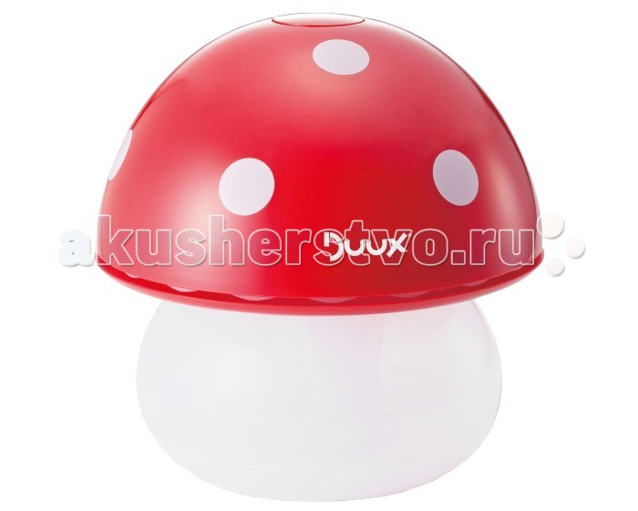 Увлажнители и очистители воздуха Duux Ультразвуковой увлажнитель воздуха и ночник Mushroom