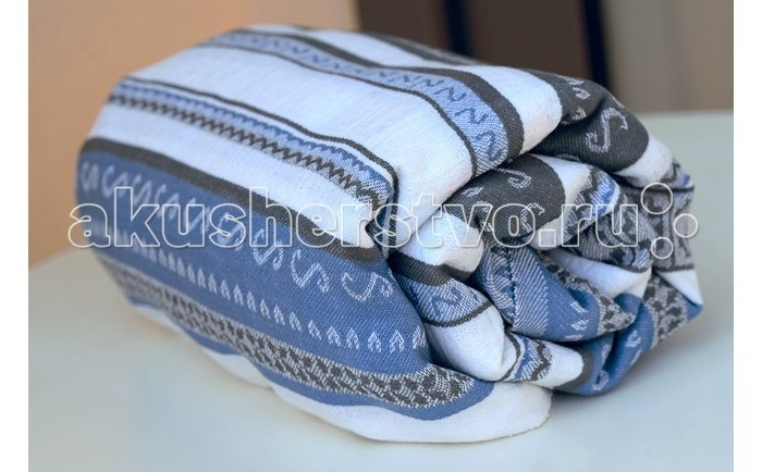 Слинги Ellevill Zara Tricolor с кольцами, хлопок M (2.1 м)
