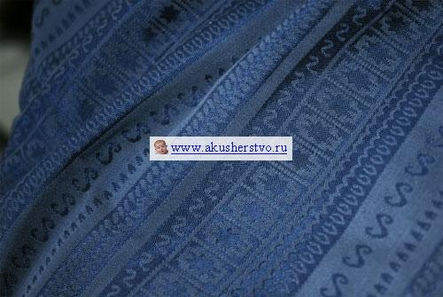 Слинги Ellevill Caelum шарф, хлопок-шёлк (4.7 м)