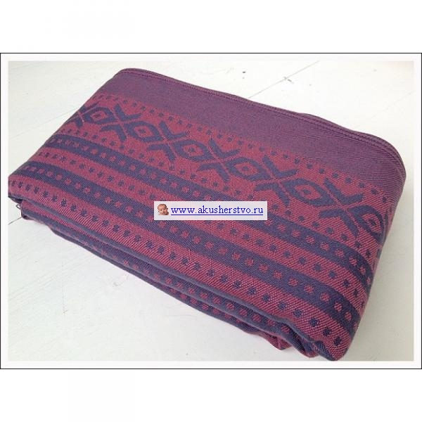 Слинги Ellevill Norwegian Style шарф, хлопок-шерсть (4.7 м)