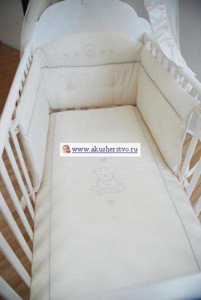 Комплекты для кроваток Erbesi Brillante со стразами Swarovski (3 предмета)