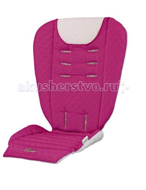 Матрас в коляску Stotte Pink / White