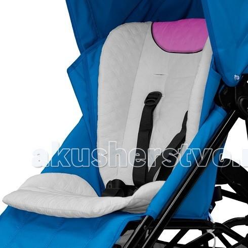 Матрас в коляску Stotte White/Pink