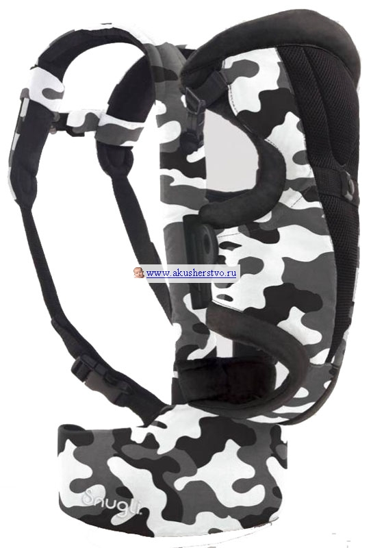 Рюкзаки-кенгуру Evenflo Snugli Front and Back Camouflage Black