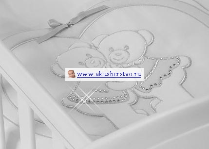 Комплекты в колыбель Feretti Baby Beddings Culla Gemelli Doppio Nido Enchant для двойни